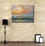 Картина искусствоа света заходящего солнца