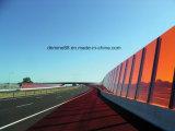 Blad het van uitstekende kwaliteit van het Polycarbonaat voor de Barrières van het Lawaai op Spoorweg