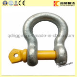 Galvanisé Drop Forged Chain Anchor Snap D Shackle avec Bolt