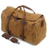 새로운 유행 큰 화포 가죽 여행 캠프용품 어깨 핸드백 작은 여행가방 2032년