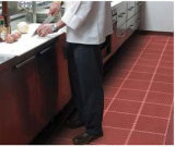 Innenküche-Gleitschutzgummibodenbelag-Matte