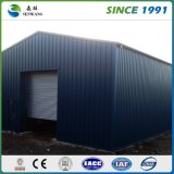 Almacén usado metal prefabricado grande de la estructura de acero