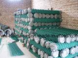 Rete fissa di collegamento Chain del PVC di vendita calda/maglia rivestite del diamante con il prezzo favorevole