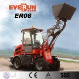 Everun 2017 800kg 세륨, TUV, Rops&Fops를 가진 소형 프런트 엔드 바퀴 로더