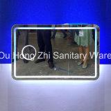 Cuarto de baño pantalla táctil Smart LED espejo con Bluetooth y radio