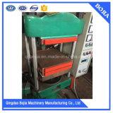 Tipo manual máquina de vulcanización de goma de la prensa de la placa del prueba de laboratorio