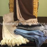 Super tessuto Soft Washable 100%Acrylic Throw Blankets