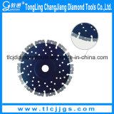 Laser 다이아몬드 디스크는 콘크리트를 위해 톱날을