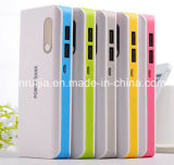 16800mAh Power Bank met LED-zaklamp Dual USB Portable