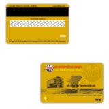 Cartão colorido do animal de estimação do cartão plástico quente do cartão da listra da venda vário