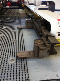 Punzonadora de la hoja de la torreta del CNC con buena calidad