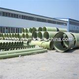 Transporte composto da água da tubulação do plástico reforçado fibra de vidro da tubulação de GRP FRP