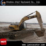 Undercarriage Pontoon를 가진 유압 Caterpillar Crawler Excavator