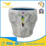 Caneca de café animal cerâmica do copo de chá do costume 3D da novidade