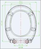 Form-Entwurf Duroplast materielles Toilette-Produkt