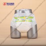 Couche-culotte jetable de bébé d'absorptivité superbe économique