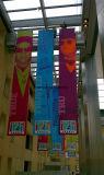 Напольное изготовленный на заказ печатание рекламируя знамя PVC винила