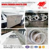 2017 Hot Aluminum 45m3 Fuel Tank Semi Semi-remorque