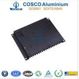 Het Aluminium van Cosco/Aluminium Heatsink met Machinaal bewerkt CNC en het Zwarte Anodiseren