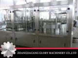 Terminar a linha de produção do frasco do animal de estimação com o capsulador do enchimento da arruela