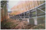 Equipo de transportador tubular de correa de la manipulación de materiales a granel para el cemento