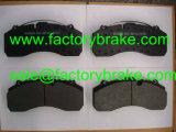 트럭 부속 브레이크 패드 Wva 29195/29175 의 상업용 차량 브레이크 패드