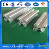Profils blancs d'aluminium d'extrusion de diverse crème de formes