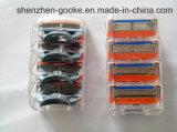 Sicherheits-Rasierklinge der Qualitäts-5 Layer+Trimmer für Gillette-Schmelzverfahrens-Energie dem Zählimpuls in des Kasten-4