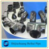 Instalación de tuberías de la autógena de tope del acero de carbón de ASME B16.9 A234 Wpb
