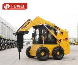 중국 살쾡이와 유사한 대중적인 Fuwei 미끄럼 수송아지 로더 Ws85