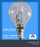 Eco Energie-Einsparung G45 Halogen Bulb mit CER, RoHS Approved