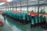 Bomba de hélice submergível vertical da eficiência elevada para a irrigação e o controle de inundação