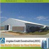 Hangar prefabricado económico del aeroplano de la estructura de acero