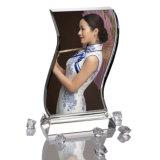 مصنع مباشرة أبيض بالجملة [3د] صوية تصديد بلّوريّة زجاجيّة صوية أطر