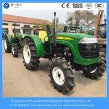중국 농업 장비 55HP 4WD 바퀴 작풍 농장 또는 정원 또는 소형 경작 트랙터