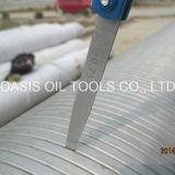 Edelstahl-Sand-Steuerdraht eingewickelte Wasser-Quellfilter/geformter Vdraht eingewickelte Wasser-Quellfilter