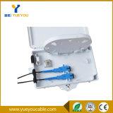 Rectángulo óptico del fin de fibra del divisor del PLC 1*2 con el adaptador Sc/APC
