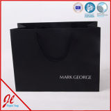 Sacos de papel de compra de papel de Manuyfacturer dos sacos de compra dos tipos com logotipo