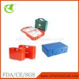 Caixa dos primeiros socorros de emergência médica do local de trabalho DIN13157