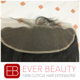 Chiusura frontale del Frontal del merletto dei capelli umani del Virgin del merletto indiano