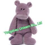 Brinquedo macio do luxuoso do hipopótamo do animal enchido do presente do bebê do CE