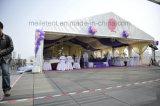 Tente de luxe d'écran de chapiteau de mariage avec la décoration de garniture de toit