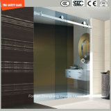 Réglable 6-12 verre trempé coulissant Salle de douche simple, douche, cabine de douche, salle de bains, écran de douche