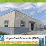 Edificio ligero de la fábrica de la estructura de acero de los paneles de emparedado del EPS Q235