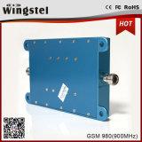 Repetidor móvil azul de la señal del aumentador de presión 2g de la señal del color GSM980 del alto aumento