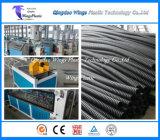 Machine de fabrication de pipe de pont en HDPE/PVC/ligne contraintes d'avance d'extrusion