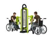 Im Freieneignung-Gerät für Behinderte