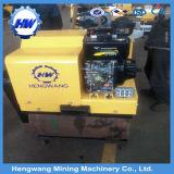 Rolo de estrada Vibratory do único cilindro da maquinaria de construção de China