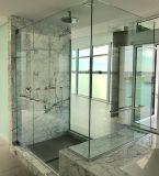 vidro Tempered de 8mm para a porta do banheiro com CCC