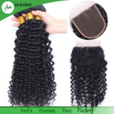20ème Anniversaire de vente superbe d'usine de cheveu d'Aofa pour les cheveux humains de bonne qualité de 100%